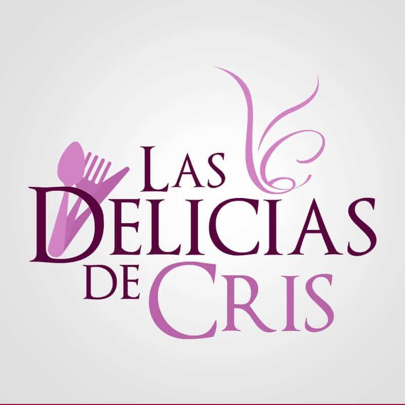Las Delicias De Cris. Diseño de Logocrea