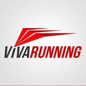 Viva Running. Diseño de Logocrea