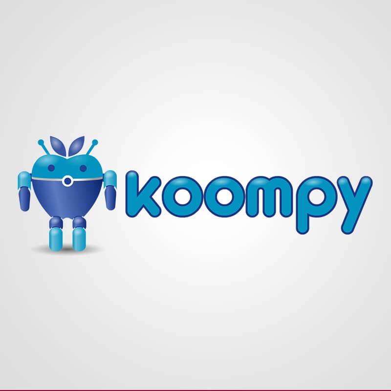 Koompy. Diseño de Logocrea