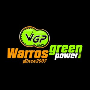 Warros Green Power. Diseño de Logocrea