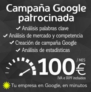 Campaña Google Márketing web logocrea