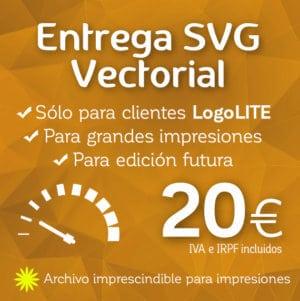 Entrega SVG vectorial Logocrea