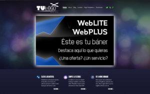Ejemplo diseño web webplus Logocrea
