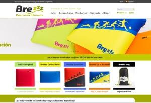 Tienda online diseñada para Brezzz por Logocrea