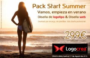 Oferta StartSUMMER en Logocrea