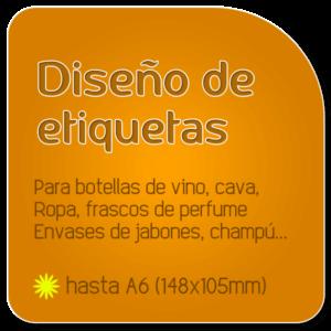 Diseño de etiquetas de logocrea