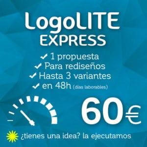 Rediseño de logotipo EXPRESS LogoLITE Logocrea