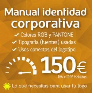 Manual identidad corporativa de logotipo. Logocrea
