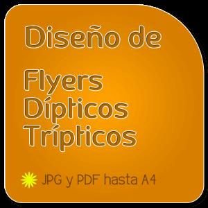 Logocrea | Diseño de flyers | Diseño de dípticos | Diseño de Tríticos