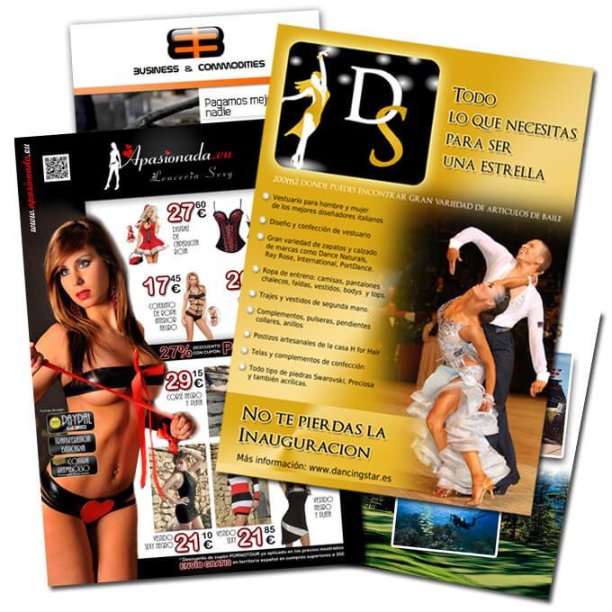 Logocrea | Diseño de Flyer | Diseño de folletos