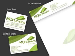 Logocrea | Diseño de papelería