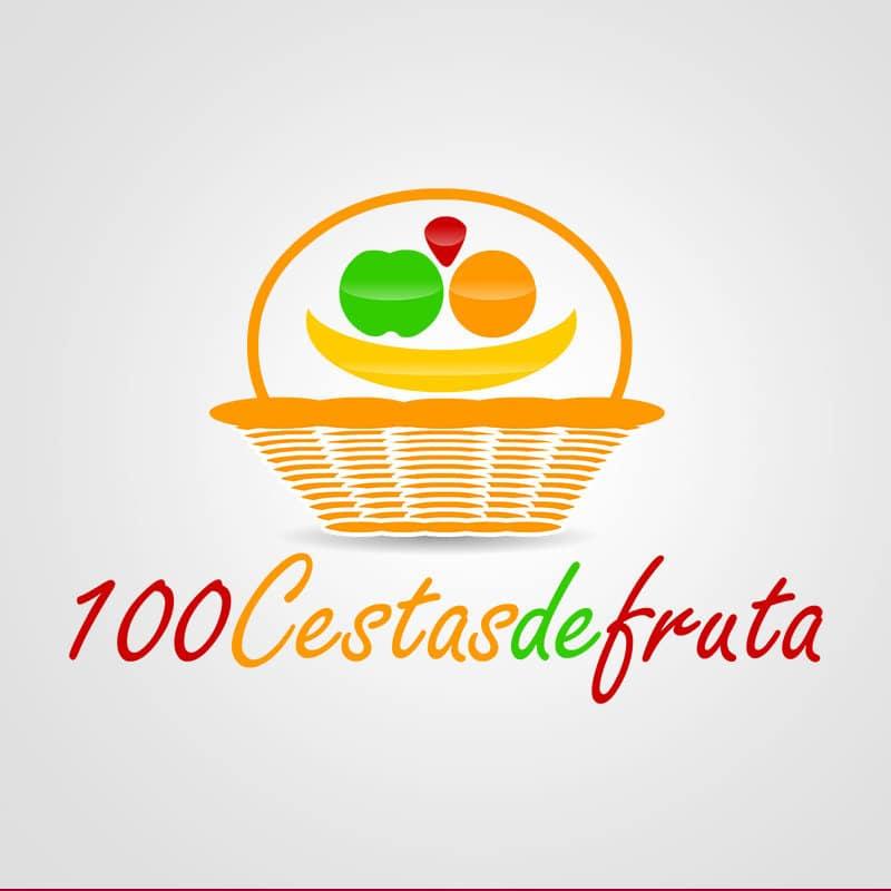 100 Cestas De Fruta