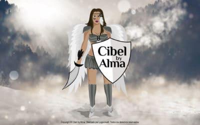 Diseño de logotipo ilustrativo para Cibel by Alma