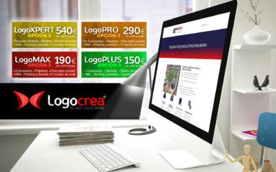 Completa el diseño de tu logo con una web de contacto: Descubre la opción 3 de nuestros servicios de logos