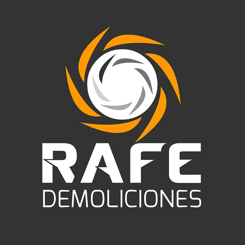 Diseño de logo para Rafe Demoliciones